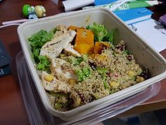 Grilled chicken quinoa from Wheat