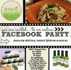 New simply wholesome wildtree workshop wildtree with me at http Keto Recipes, Cooking Recipes, Food Dye, Meal Planning, Meal Prep, Good Food, Healthy Eating, Meals, Facebook Party