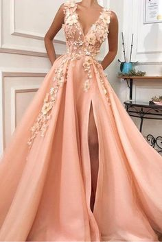 Graduation dresses long - Charming V neck Long Prom Dress,Tulle Evening Party Dress with Flower – Graduation dresses long Graduation Dresses Long, V Neck Prom Dresses, Tulle Prom Dress, Prom Party Dresses, Maxi Dresses, Prom Dresses Flowers, Long Dresses, Wedding Dresses, Summer Dresses