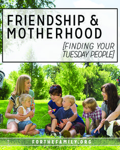 Moms, you are not alone. There are friendships waiting to be forged in your everyday. Here's how to find your people and thrive in the mundane and the lovely together.