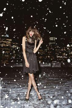 Let it snow.    #JBRANDHoliday #WMag