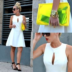 LWD - The Little White Dress #fashiolista #inspiration