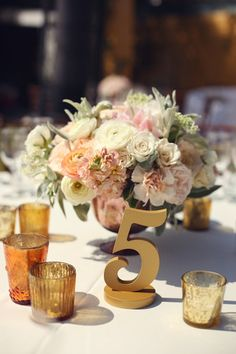 wedding table numbers, reception table numbers, ideas for tables