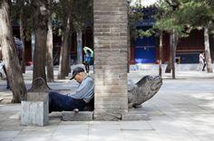 Operaio in Cina Foto © Neige De Benedetti