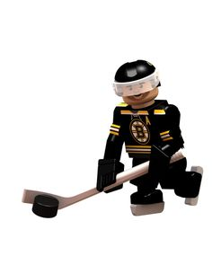 Boston Bruins Patrice Bergeron Mini Figure from OYO - Completely compatible with Legos!