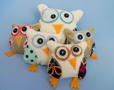 Lily Bird Studio's blog: Tutorial: Stuffed Owl