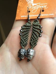 SALE  Macrame earrings by creationsmariposa on Etsy