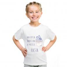 Koszulka personalizowana dziecięca CIACHO idealny na urodziny