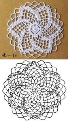 Crochet Snowflake Pattern, Crochet Snowflakes, Crochet Stitches Patterns, Crochet Chart, Crochet Squares, Thread Crochet, Filet Crochet, Crochet Motif, Crochet Designs