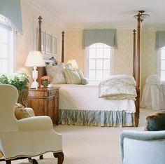 Master Suites - traditional - bedroom - Dc Metro - Elizabeth Krial Design, LLC