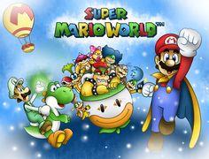 .:Super Mario World:. by 6GonzaloCortez4 on deviantART