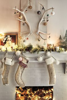 Anthropologie holiday home ornaments &decor