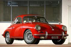 Red 356 #porsche