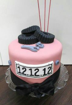 Car mechanic cake Birthday cake for a young man Cake is filled