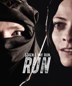 When I say run, run