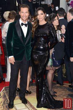Matthew McCounaghey and Camila Alves at the 2014 Golden Globe Awards | Tom & Lorenzo Fabulous & Opinionated