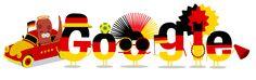Alemania, campeona del Mundial de Futbol Brasil 2014 – Doodle