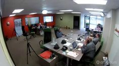 Office timelapse recorded by Dropcam Drop Cam, Space, Table, Furniture, Home Decor, Floor Space, Decoration Home, Room Decor, Tables