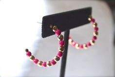 Vintage Earrings Vintage Bead Earrings Vintage by talkOfThetown