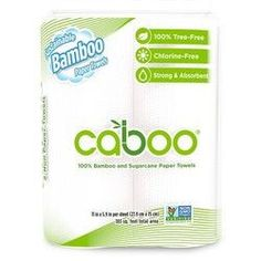 Caboo Bamboo 2 Ply Paper Towels (20x2 PK)