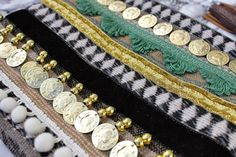 Ethnic Embellished Coin Clutch Bag by RENIQLO on Etsy