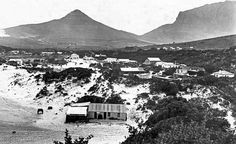 cape town history Hout Bay Beach in 1910 Cape Colony, Cape Town South Africa, Table Mountain, Most Beautiful Cities, Historical Pictures, African History, Old Photos, Live, World