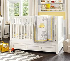 Boy bedding to go with yellow/gray paisley bedding!
