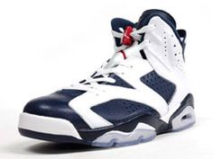 That takes me back...AIR JORDAN VI RETRO WHT/NVY/RED