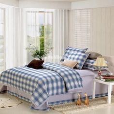 Blue Black College Dorm Room Bedding Sets [100601300001] - $149.99 : Colorful Mart, All for Enjoyment