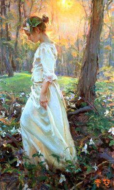 """In every walk with nature one receives far more than he seeks."" ~ John Muir ~ Artist: Daniel Gerhartz"