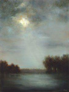 Breaking Light by Lisa Seago Oil ~ 48 x 36