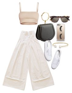 """""""Untitled #22059"""" by florencia95 ❤ liked on Polyvore featuring Chloé, Superga, Tom Ford, David Yurman and Casetify"""