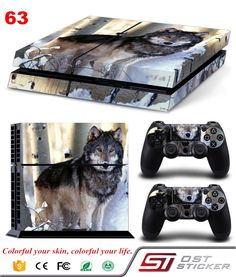 Green Leaf Vinyl Decal For Console Cover For Playstaion 4 Console Skin Controle Protective Skins Accessory Playstation 4 Accessories, Gaming Accessories, Playstation Games, Xbox, Ps4 Skins, Ps4 Controller, Baby Play, Buying Wholesale, Sport