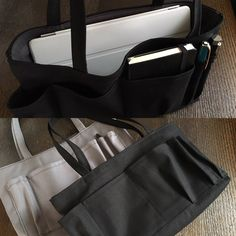Changing the bag. I took the contents of my bag out of the bag. This bag in bag is very convenient. bag in bag : MAME FUKU handmade鞄を変える時も便利!失くしモノも無くなる?