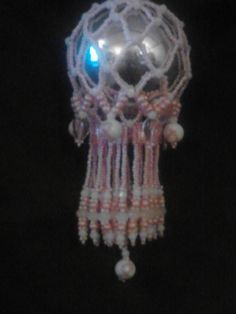 Breast Cancer Awareness Ornament by DustDevilTreasures on Etsy, $60.00
