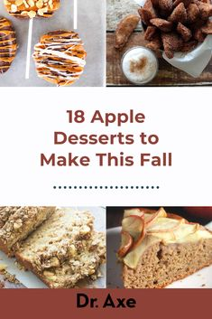 These creative apple desserts skip the sugar and processed ingredients but taste delicious!