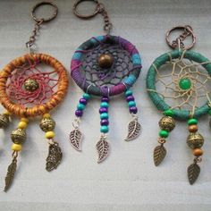 Check out this item in my Etsy shop https://www.etsy.com/uk/listing/268179257/dreamcatcher-keyring-handmade-keyring