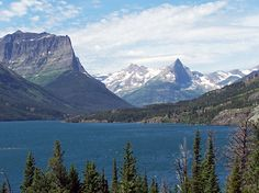 Glacier National Park.  Will go. One day.