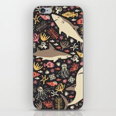 Oceanica iPhone & iPod Skin