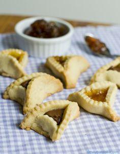 Urban Baker's adaptation of Joan Nathan's hamantaschen recipe.  Pretty crinkle edges...