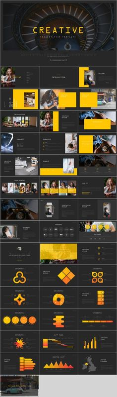 Creative yellow business PowerPoint – The highest quality PowerPoint Templates and Keynote Templates download Great Powerpoint Presentations, Professional Powerpoint Templates, Business Powerpoint Presentation, Creative Powerpoint Templates, Professional Presentation, Joomla Templates, Infographic Templates, Keynote Template, Infographic Powerpoint