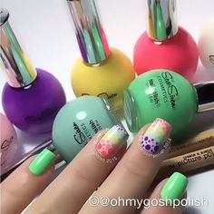 Cute nails tutorial from our Instagram account! Dot nails by @ohmygoshpolish #nailtrend #nails #nail #fashion #cute #beauty #beautiful #instagood #pretty #girl #girls #stylish #sparkles #styles #gliter #nailart #art #opi #photooftheday #essie #unhas #preto #branco #rosa #love #shiny #polish #nailpolish #nailswag Sea Siren, Nail Tutorials, Nail Trends, Swag Nails, Cute Nails, Essie, Dots, Nail Polish, Nail Art