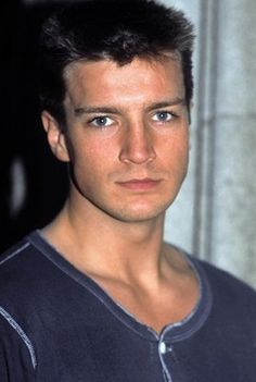 Nathan Fillion as a little one, so precious