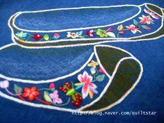 야생화자수놓기:꽃신자수특강에 다녀왔습니다 좀 된 얘기네요. 꽃신특강이 있어서 간만에 안국역에 내려서 ... Hand Embroidery Stitches, Embroidery Fabric, Star Wars, Fabric Design, How To Make, Blog, Geisha, Embellishments, Fashion