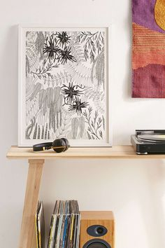 Shop Caitlin Foster Botanical Art Print at Urban Outfitters today. We carry all the latest styles, colors and brands for you to choose from right here. Space Frame, Wood Molding, Living Room Art, Recycled Wood, Botanical Art, Prints For Sale, Wall Prints, Wood Art, The Fosters