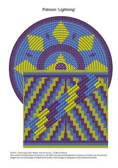 Mochila bag - Lightning - CraftsByManon
