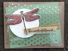 Sootywing Studios: Dragonfly Dreams Display Samples - 4 and 5 (mini sales stampin up) Stampin Up Katalog, Mini Sales, Bee Cards, Stamping Up Cards, Butterfly Cards, Greeting Cards Handmade, Homemade Cards, Making Ideas, Crochet