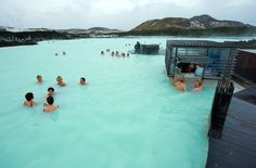 The water averages 98 to 102 degrees and is said to have curative benefits.               Image Source: Shu...