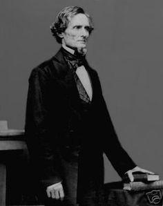 Civil War Photo, Confederate President Jefferson Davis