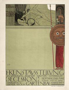 klimt - ver sacrum affiche (1898)